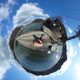 1月に行った大崎上島のファームスズキでの1枚。 塩田跡地で牡蠣の養殖してるんです! #大崎上島観光PR  #theta360