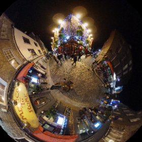 Temple Bar Dublin #theta360 #theta360uk