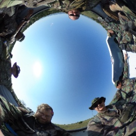 Tactical trackers 2 #theta360