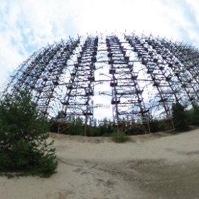 radar Duga Chernobyl #theta360 #theta360it