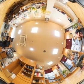 和歌山県海南市にある「美容室夢飛行」様のウェブサイト撮影 #theta360