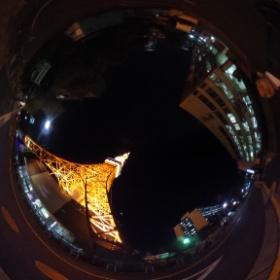 東京タワー #theta360