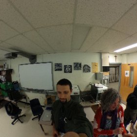 Experimenting with the new 360 camera