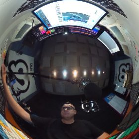 Getting the show sorted in @dubai92 this morning.   #92breakfast #theta360