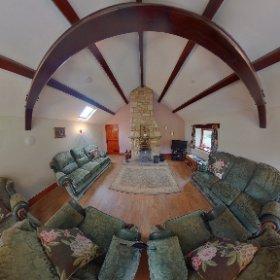 'Woodside' Lounge & Dining area. Riverside Cottages, High Bentham. #theta360 #theta360uk
