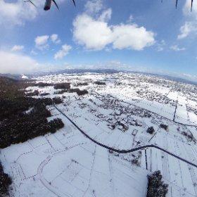 IKEDA Gifu #snow3d #theta360
