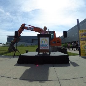 #Omaha Mayor Jean Stothert at the the groundbreaking this morning at the Omaha Kroc Center expansion. #theta360