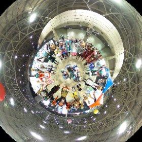 マジカルミライでマジカルな出会いに感謝! マジカルミライ2019東京  at コスプレエリア #miku360 #マジカルミライ2019 #theta360