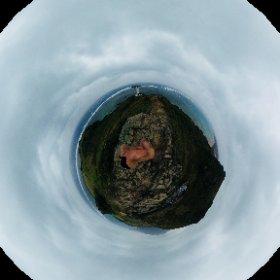 嵐の平久保灯台 #石垣島 #theta360
