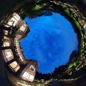 #旧古河庭園 ライトアップ #theta360