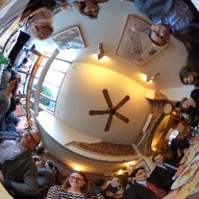 End of Year Lunch  #snowcrystal3d #theta360