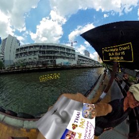 Saen Saep Canal (klong) Pier Nana Chard at this canal cuts thru the back of the city the service is cheap, fast, no frills and few thrills SM hub https://goo.gl/cDq8ic BEST HASHTAGS #CanalSsPierNanaChard  #BkkCanalPier   #BkkCanalSaenSaep