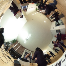 At the Network Hub CROSS POST - VanCG - VR Artist Event on last Thursday December 8th #VanVR, #CrossPost #VanCG #theta360