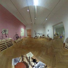 Die Ausstellung Kinder mobil läuft noch bis zum 25. Februar. Hier ein 360° Rundblick. Macht euch selbst ein Bild und kommt borbei!