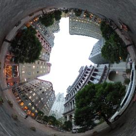汐留イタリア街360度ぐりぐり #theta360