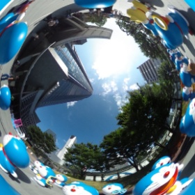 Doraemon Installations at Roppongi Hills - Tokyo