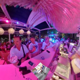 360 spherical Escape Bistro Rooftop, Emquartier (label shopping) Bangkok chill or thrill on Vertigo bridge, SM hub https://goo.gl/CtCNKF BEST HASHTAGS #EscapeBistroBkk   Industry #BkkBistro   #BkkDining   #BtsPhromPong   #Butterfly3d #theta360