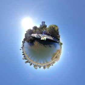 360 spherical Lake Vasto at the Eastern point of Perth city,  boardwalk, outdoor cinema, playgound, Picnic bbq area, ferry pier SM hub https://linkfox.io/LY8os BEST HASHTAGS  #LakeVasto    #EastPerthWA   #VisitPerthWA #butterfly3d #theta360