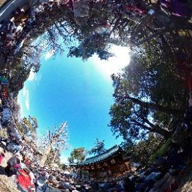調布市 布多天神社 節分祭2