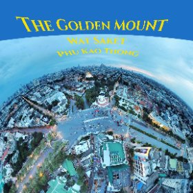 The Golden Mount ( Phou Khao Thong ) at Wat Saket, unique man made mountain built 1800, a rooftop chedi 360 degree view, visit via canal, SM hub http://goo.gl/JcebFk   BEST HASHTAGS #GoldenMount  #BkkTemple  #WatSaket  #SaenSaepCanal #butterfly3d