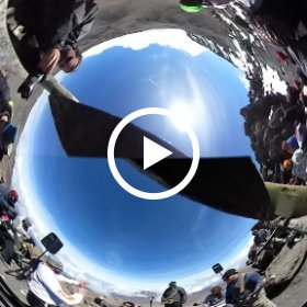 Tunnel Vision just after live-streaming Citrus Skies from the top of Africa! #SYATT2017