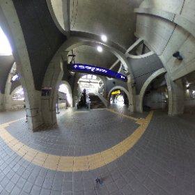 京阪宇治駅 #theta360