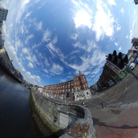 A 360 View of #CorkEnglishCollege and Patrick's Bridge! @MacStTraders @PhotosCork @itscorklike #theta360