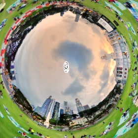 Victoria Theatre and Concert Hall - www.ansonchew.com #ansonchew #anson360 #singapore #VictoriaTheatre #sunset #theta360