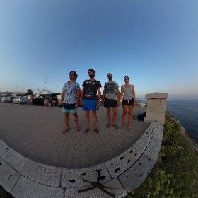 Tramonto sulla punta estrema della Puglia #puntadellostivale #leuca #Italia #puglia #salento #suoereroialtramonto #theta360 #theta360it