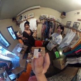 #焙煎disco茶蔵 で ローズと。 #sakura3d #theta360