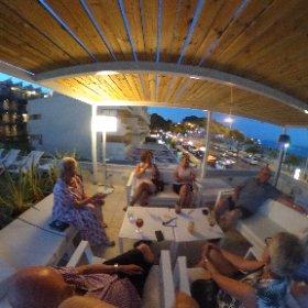 En koselig aften med gode venner i Palmanova
