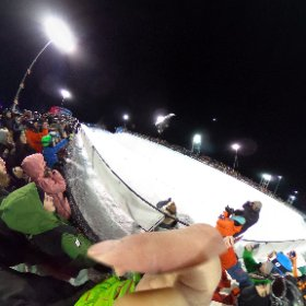 #monsterpipe #laax #laaxopen #snowboard #theta360