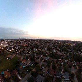 Dji mavic + theta = aerial 360.  #dji #djimavicpro #drone #dronestagrm #aerialphotography #outdoor #landscape #theta360