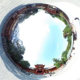 国宝 石清水八幡宮  本殿前 #theta360