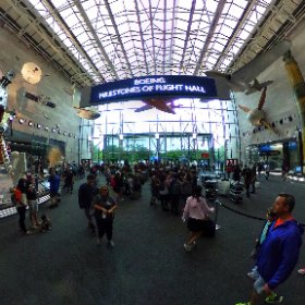 National Air and Space Museum, Washington DC. #theta360