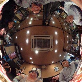 池田高校の同期会を同期のお店で #theta360