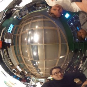 thé bright side hanging at thé hôtel bar on the aiport - 1st night!!  #theta360