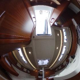 360-degree-spherical-image of the new sailingyacht Dehler 34 by http://Yachtfernsehen.com. 360-Grad-Foto von Eignerkabine und Salon der neuen Segelyacht Dehler 34. #theta360 #Dehler34