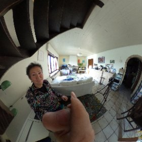 360° camera shot during the recording of my Compendium of Instructional and Learning Tools book. A look into my living room #CILT #IDesign  #theta360
