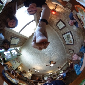 Lunch in Der LIndenbaum in Fredericksburg #eastertrip #360photo #theta360