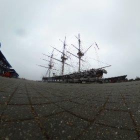 Danish frigate Jylland in Ebeltoft, Denmark #theta360