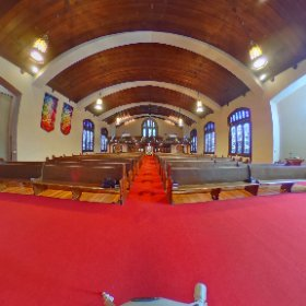 Ready for another Advent Sunday at the Union Church of Hinsdale, U.C.C. #theta360