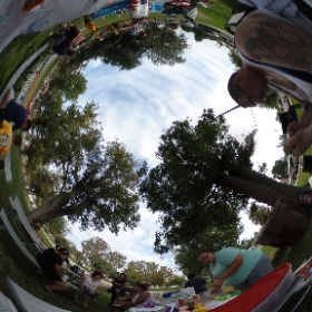 Party at Mannel Park  #theta360