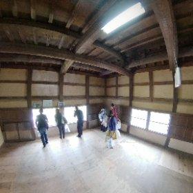 彦根城櫓内部 #theta360