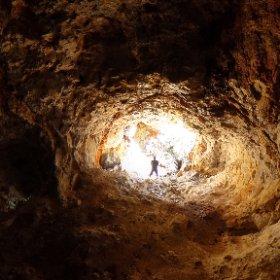 美初第二水晶洞窟 #theta360