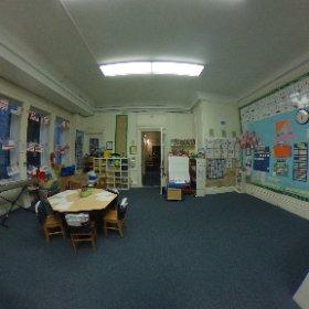 Kindergarten Classroom #marymount360 #theta360