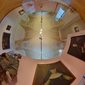 Výstava Čechy-Sasko. Jak blízko tak daleko. Sledování pozitivního propojení obou regionů v oblasti umění od pravěku po současnost je předmětem aktuální výstavy ve Šternberském paláci na Hradčanském náměstí v Praze. Foto: Petr Šálek  #theta360
