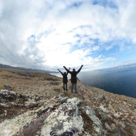 Discovering Olhon today. Check out our view! #baikal #russia #siberia #olhon