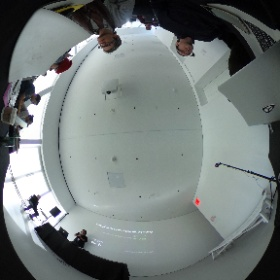 #Roomscale #VR with @virtual_dario @htcvive @Structure #Moverio #versions2017 @newmuseum @killscreen @newinc #theta360