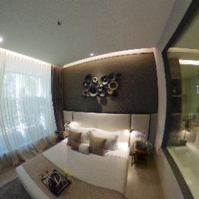 The Esse Asoke 1 Bedroom 46.5sq.m (Master Bedroom 360° View)